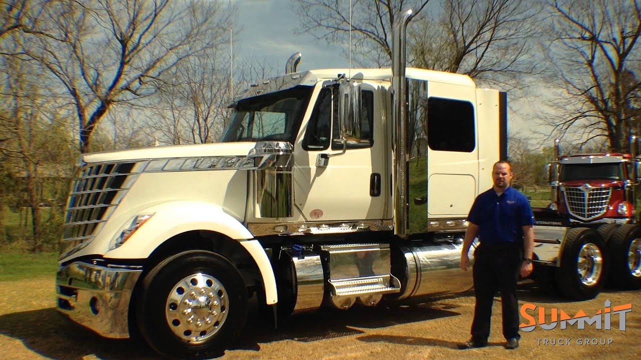 Summit Truck Group >> 2016 International Lonestar Trucks For Sale - YouTube