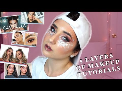 Followed Extreme Glitter Face Paint Festival Makeup Tutorials