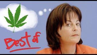 Best of Marlene Mortler / Unsere inkompetente Drogenbeauftragte