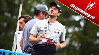 Trener Dolezal OCENIA zawody we Francji