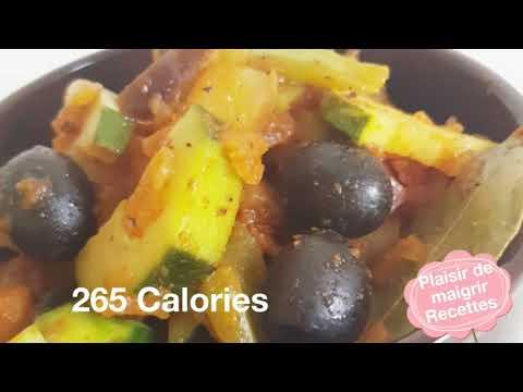 recette-diététique-265-calories-plaisir-de-maigrir-courgettes,-aubergines...-zucchini,-eggplant