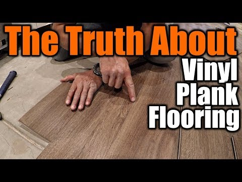 The Truth About Vinyl Plank Flooring 1 | THE HANDYMAN |