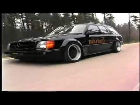 mariani car styling tuning werbefilm 1992 mercedes w124. Black Bedroom Furniture Sets. Home Design Ideas
