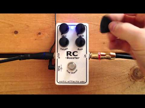 5 Minutes with the Xotic Effects RC Booster - Pedal Demo