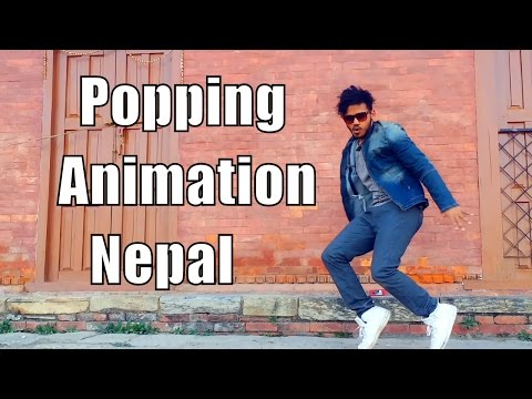 Best Popping Animation Dance (Must Watch)| Dubstep 😍😍 | Nepstepper