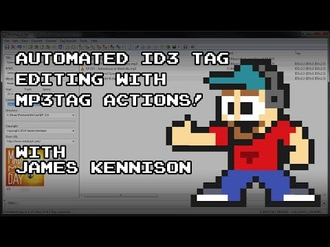 Automate Podcast ID3 Tag Editing With Mp3Tag Actions (PC)