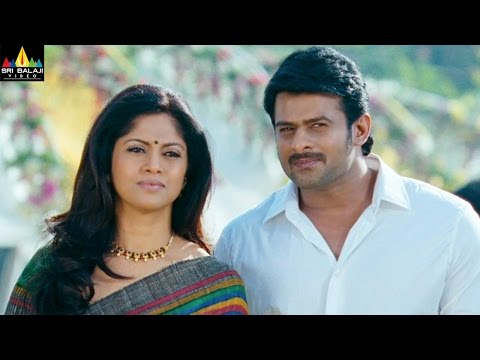 Mirchi Movie Nadhiya Intro as Wedding Planner | Prabhas, Anushka, Richa | Sri Balaji Video
