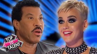 TOP 10 Contestants Perform JUDGES Songs On X Factor And Idol!