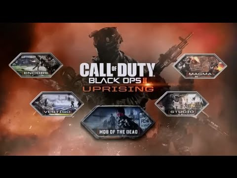 black ops 2 uprising map pack 2 dlc review by trout youtube