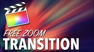 Gambar cover Zoom Transition Final Cut Pro X - FREE Download!