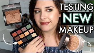 Testing NEW Makeup GRWM! (kinda a fail...)