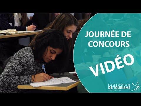 Une journée de concours à l'École Supérieure de Tourisme Troyes-Paris !
