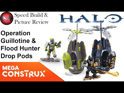 Mega Construx Halo opération Guillotine Drop Pod Set NEW EN STOCK