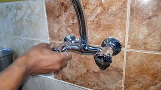 Kitchen Mixer Fitting on the Wall/Brand New Kitchen Mixer Fitting/Kitchen Mixer Installation