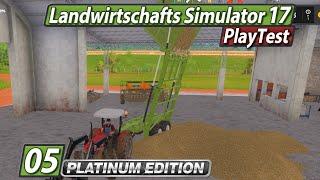 LS17 Platinum PlayTest 🚜 Geniale Kippmechanik ► #5 Landwirtschafts Simulator 17 deutsch