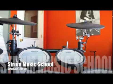 Strum Music School Austin, TX - Guitar, Bass, Piano and Drum Lessons