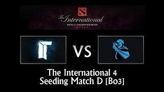 Titan vs Newbee - TI4 Seeding Match D (Bo3)