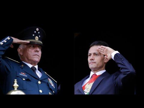 TIEMBLAN PRESIDENTES Y NARCOS EN EL MUNDO: MÁXIMO GENERAL DE MÉXICO ARRESTADO