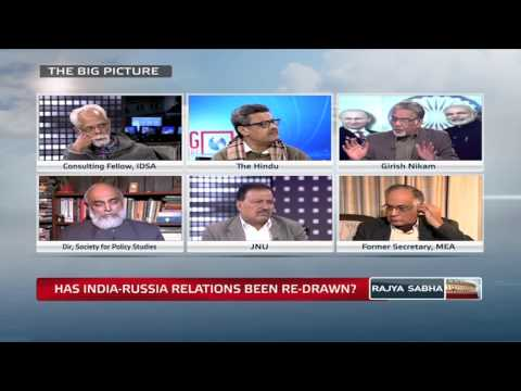 The Big Picture - Has India-Russia relations been re-drawn?