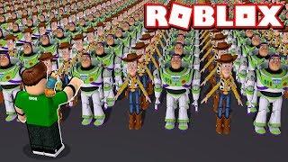 MY OWN TOY STORY 4 EXERCISE in ROBLOX!!