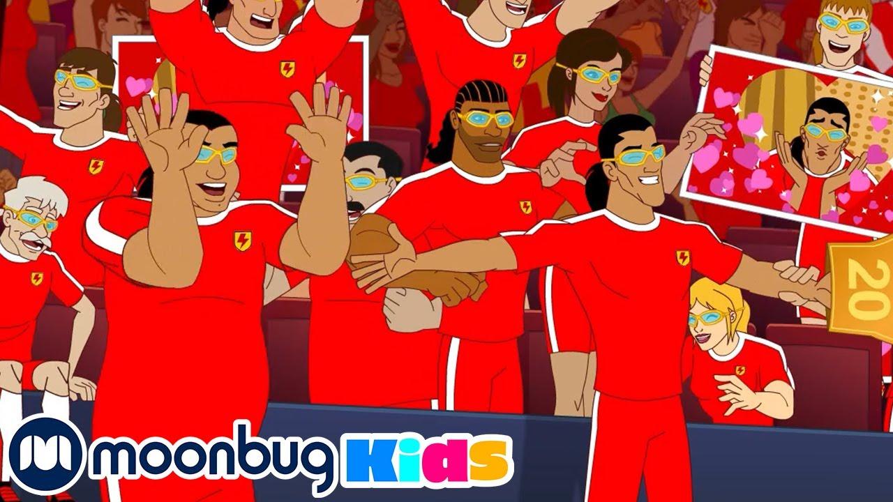 Download SUPA STRIKAS S04 E47 El Matador Finds Himself| Football Cartoon | MOONBUG KIDS - Superheroes