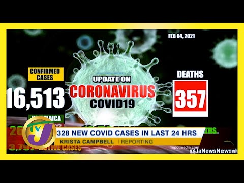 Jamaica Sees Shocking 328 New Covid Cases in 24hrs.   TVJ News