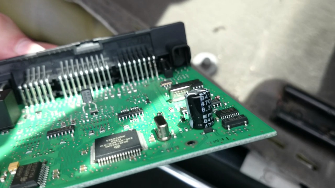ecu wiring diagram mercedes club car wire 48 volt not audi a4 b6 central electronic comfort module location - youtube