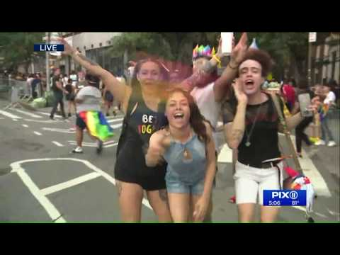Millions turn out to NYC Pride Parade