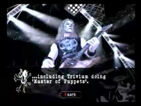 Guitar Hero Metallica Master Of Puppets Metallifacts Youtube