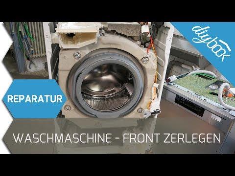 aeg waschmaschine reparieren youtube