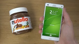 Sony Xperia Z3 Compact - Nutella Test (4K)