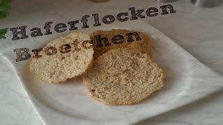 Haferflocken-Brötchen / oatmeal buns
