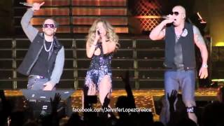 Jennifer Lopez & Wisin y Yandel - Follow The Leader (Live in Puerto Rico 21/12/12)