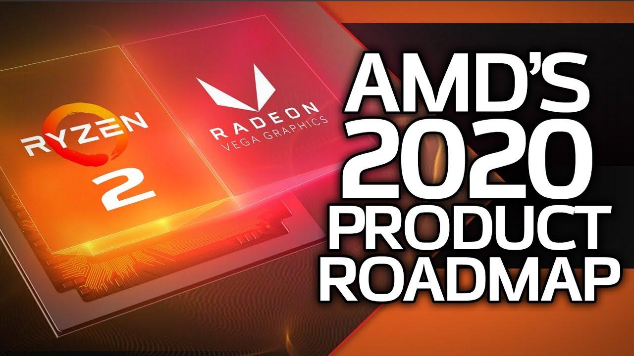 Amd S 2020 Product Roadmap Ryzen 2 Navi 2nd Gen Threadripper Youtube