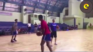 Jordan Clarkson Practices With Gilas Pilipinas Teammates For 2018 Asian Games