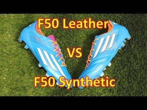 Adidas F50 adizero 2014 Leather VS Synthetic - Comparison + Review