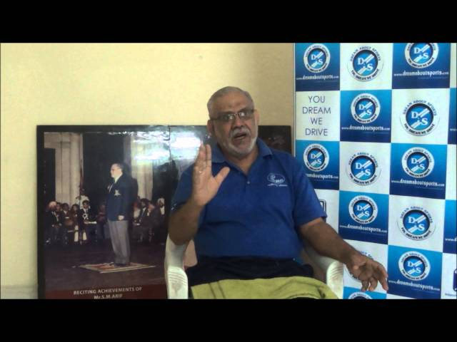 SM Arif sir shares his eperiences with dream about sports