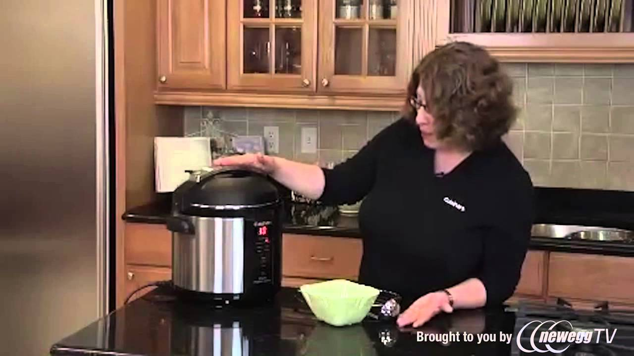 video Cuisinart 6-Quart Electric Pressure Cooker Full Review ?️ And Promotion