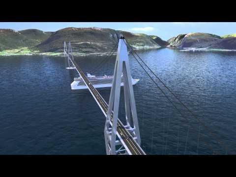 Statens vegvesen - Ferjefri E39, Sognefjorden (norsk tale)