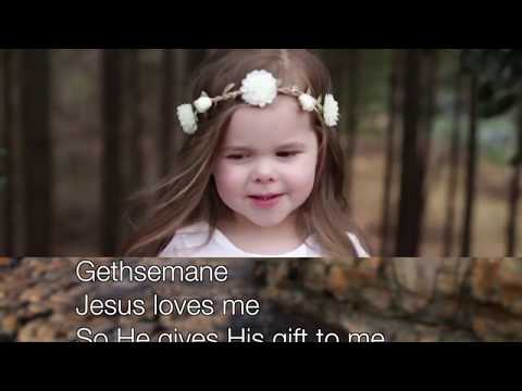 Gethsemane ~ Claire Ryan ~ lyric video