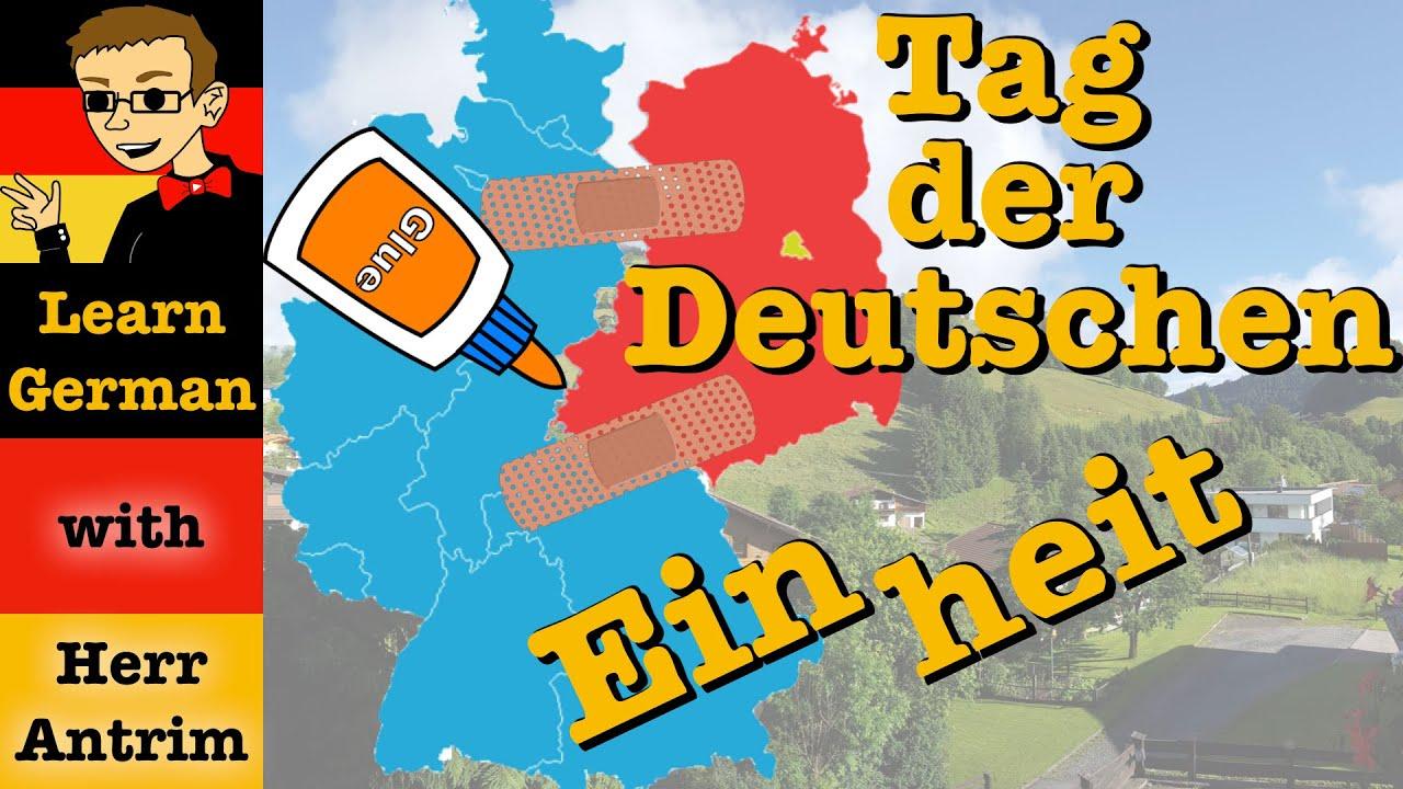 Tag Der Deutschen Einheit Learn German With Herr Antrim