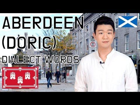 Aberdeen(Doric) Dialect Words [Korean Billy]