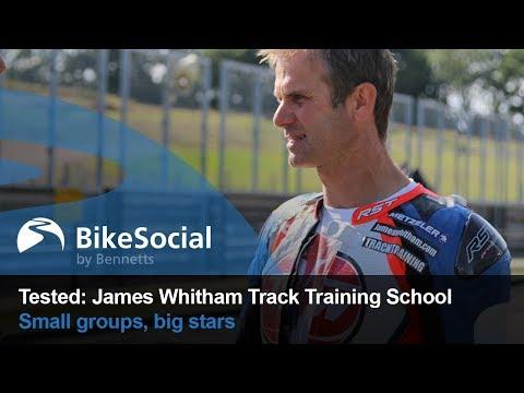 James Whitham Track Training At Mallory Park   BikeSocial