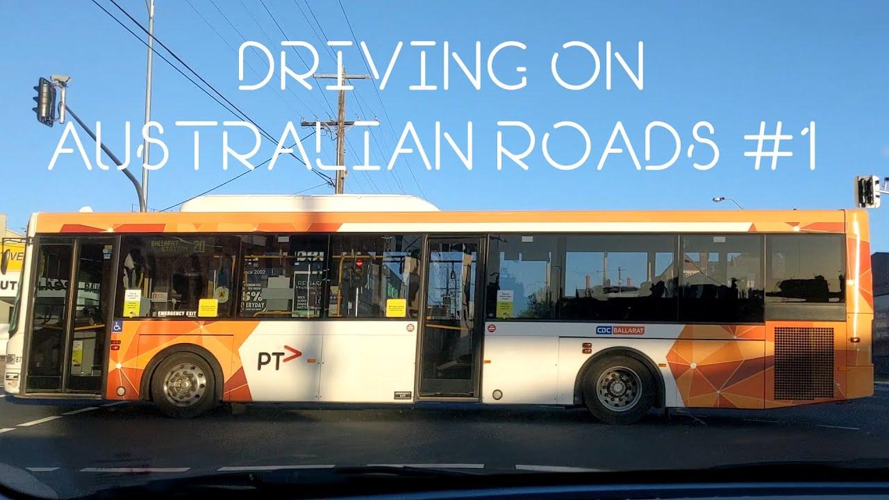 Driving on Australian Roads #1 *** No Talking Video
