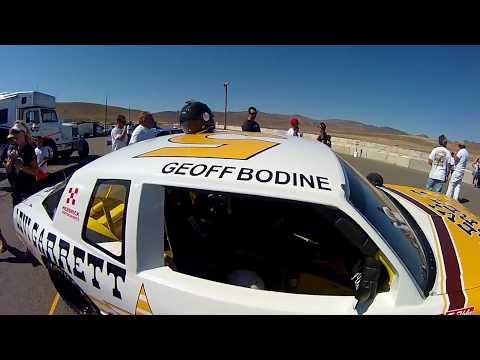 Geoff Bodine's 1982 Levi Garrett Winston Cup Car at Reno Fernley Raceway.