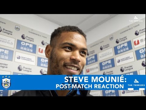 WATCH: Steve Mounié on Brighton & Hove Albion win