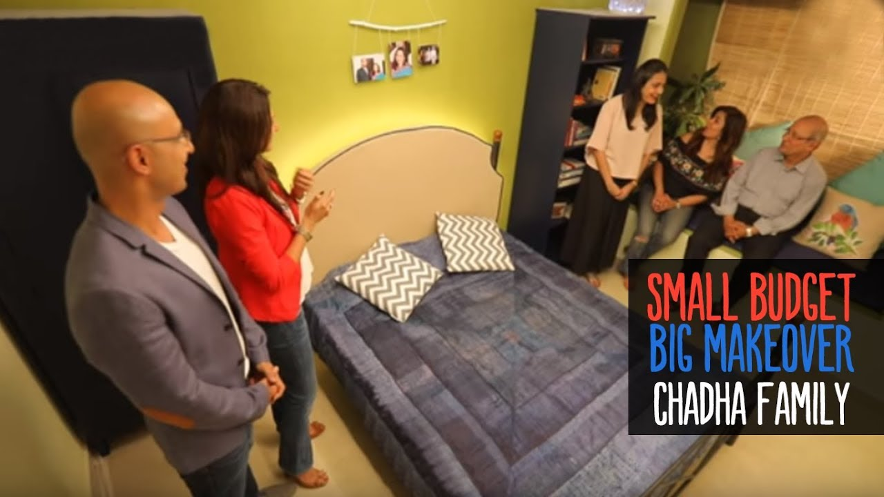 Small Budget Big Makeover Season 2 Ep1 Mini The Chadha Family