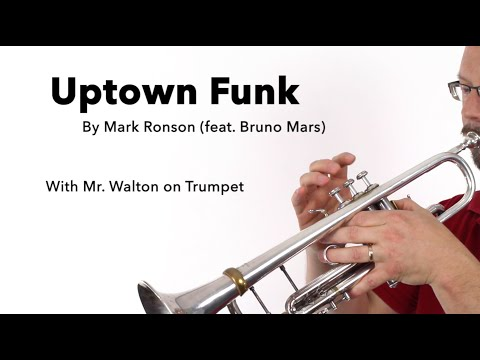 Uptown Funk for TRUMPET