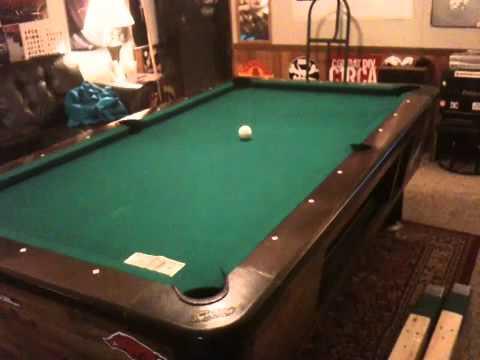 Banking A Ball Rails On A Dynamo Bar Box Ridgeback Rails YouTube - Valley bar box pool table