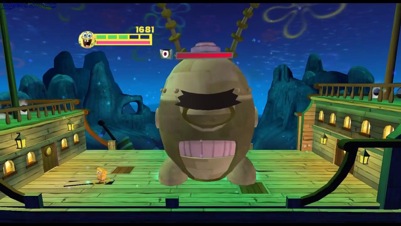Spongebob Squarepants Planktons Robotic Revenge Wii Gameplay Gogetasuperx Youtube